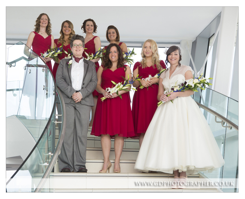 Wedding photographer at The Rayleigh Club Essex