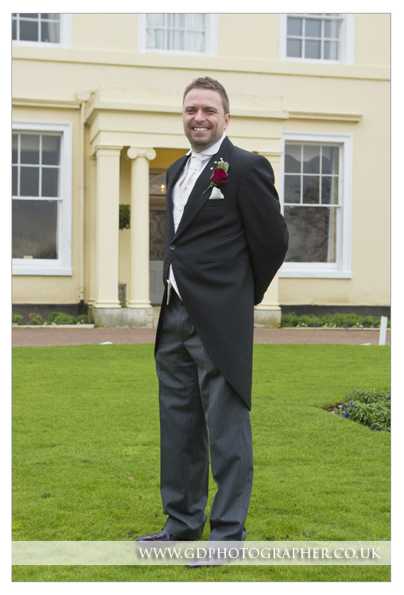 Wedding photographer at The Lawn Rochford Essex