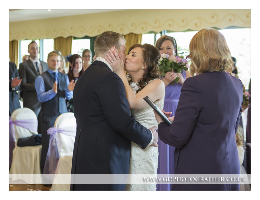 Wedding photography at Three Rivers Golf