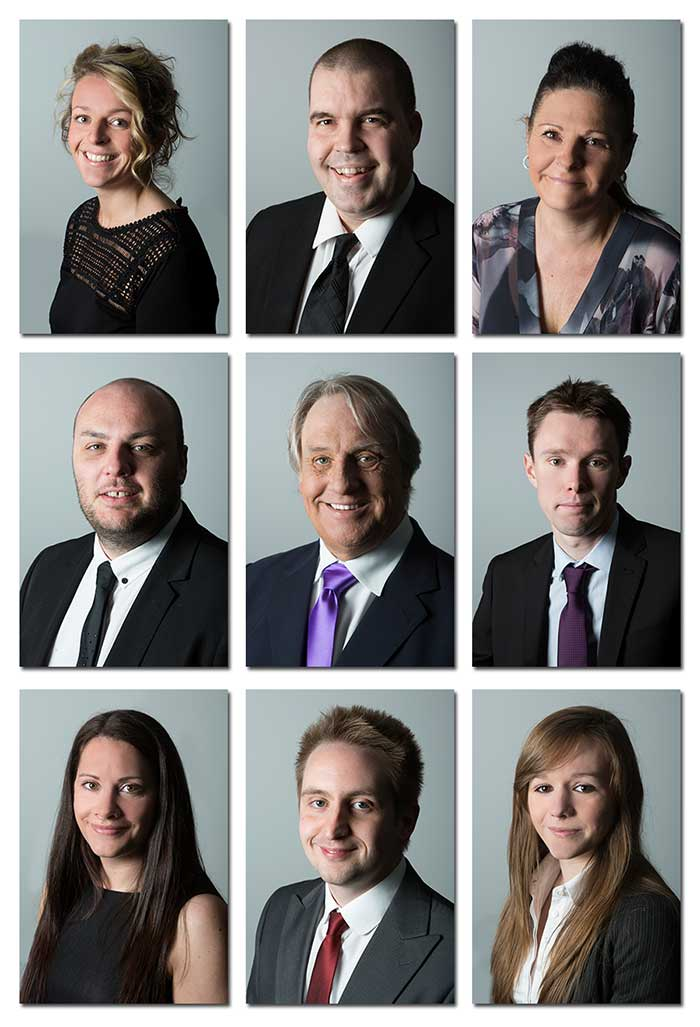 Corporate Staff Headshots in Southend Essex