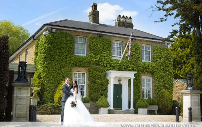 Wedding photographer at Friern Manor