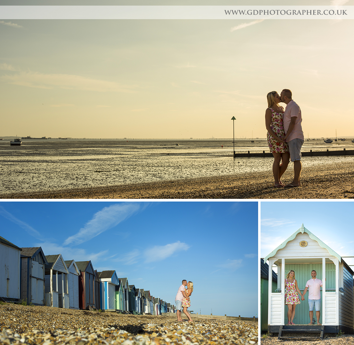 Engagement Shoot on Southend Seafront