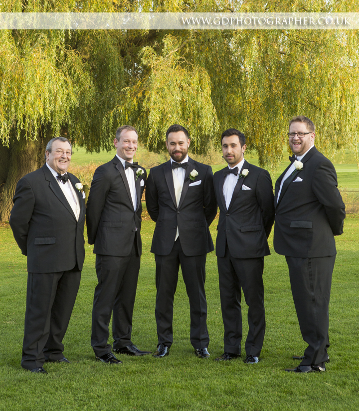 Rayleigh Club Wedding Photos