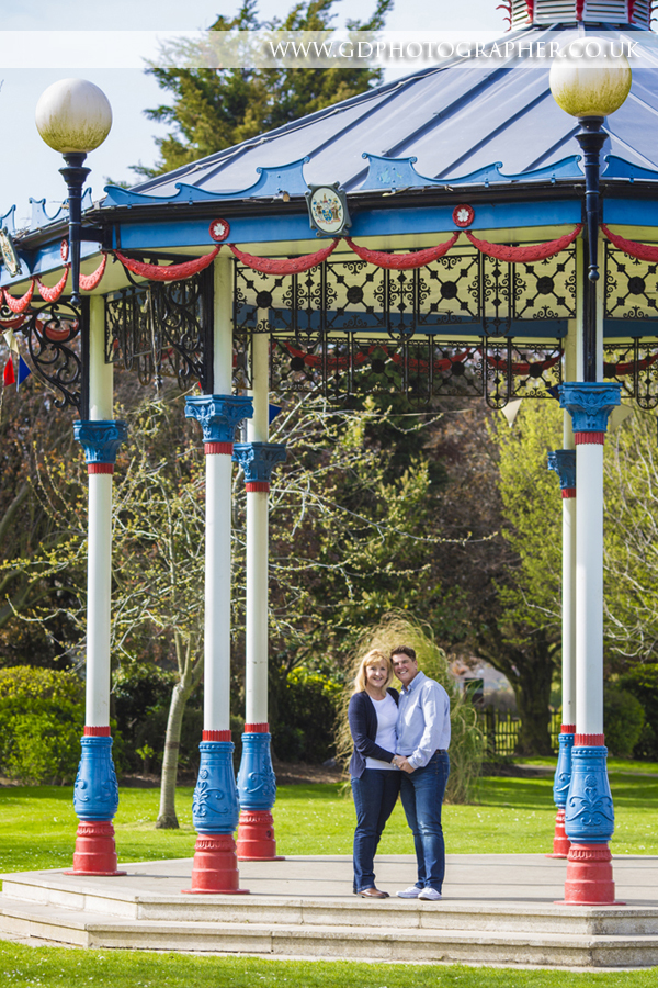 Engagement Portrait Photoshoot Southend