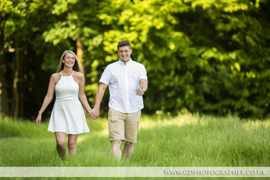 Engagement Shoot at Gusted Hall Woods