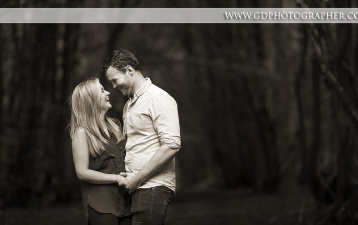 Engagement photographer in Rochford