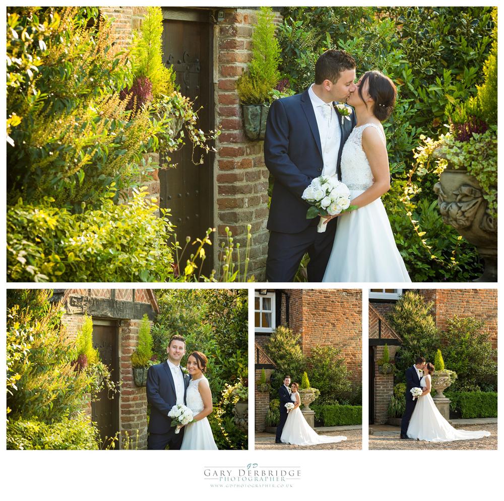 Professional Wedding Photographer At Newland Hall Outdoor