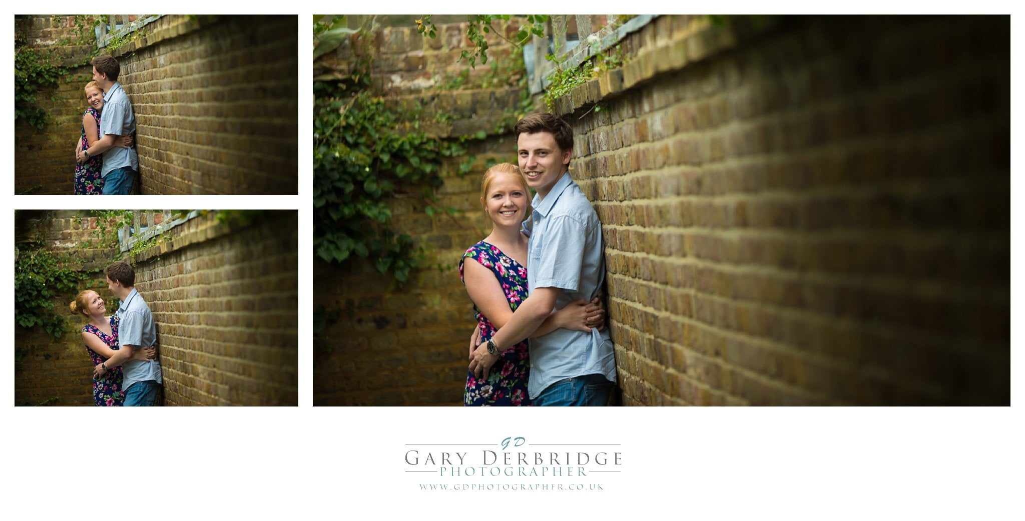 Wedding engagement shoot at Priory Park | engagement photos southend