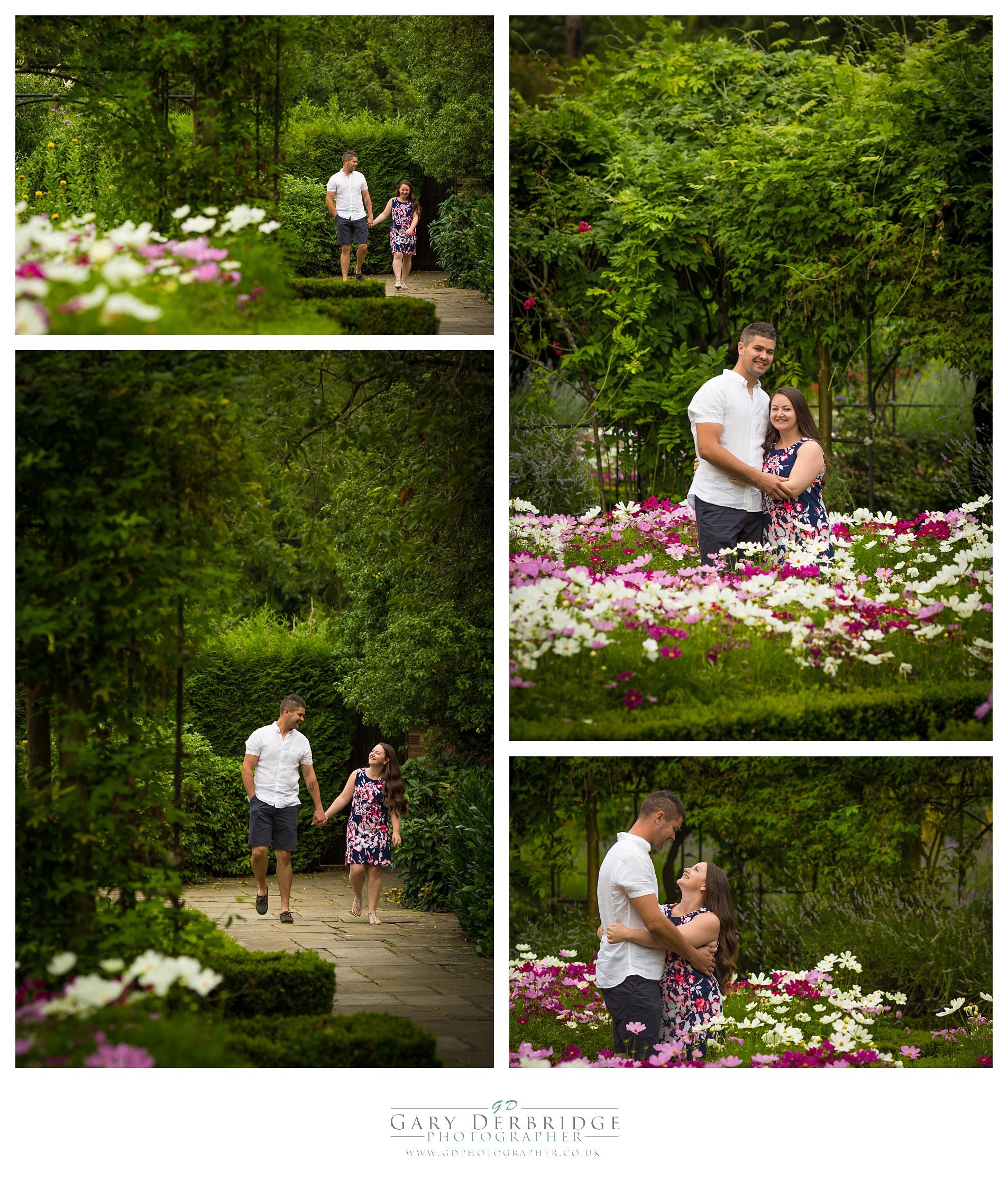 Engagement portrait session in Southend Essex