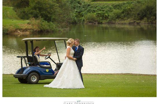 Wedding photographer at Channels Golf Club
