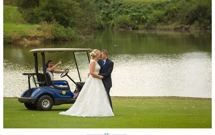 Wedding photographer at Channels Golf Club