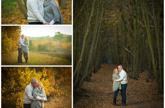 Gusted Hall Woods Couples Portraits