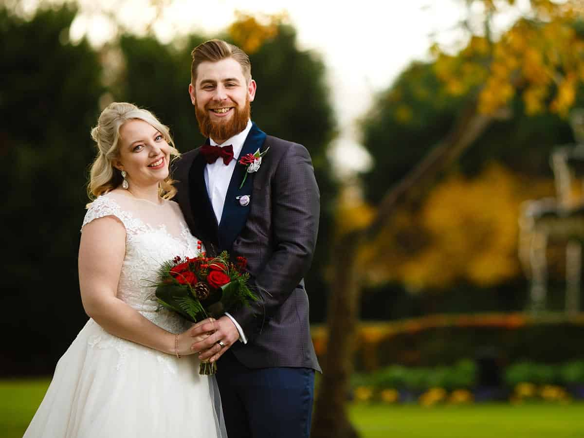 Autumn Wedding at The Lawn Rochford