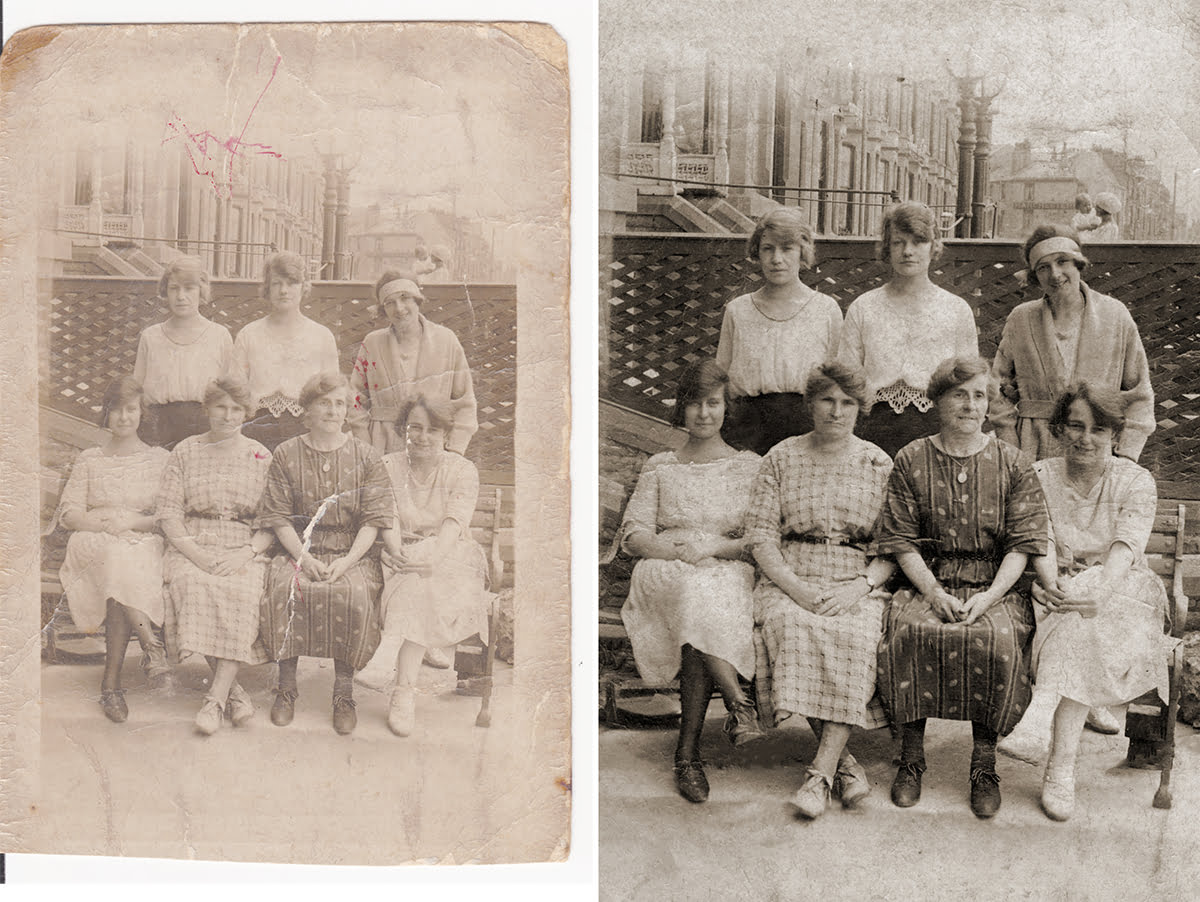 Photo restoration in Essex