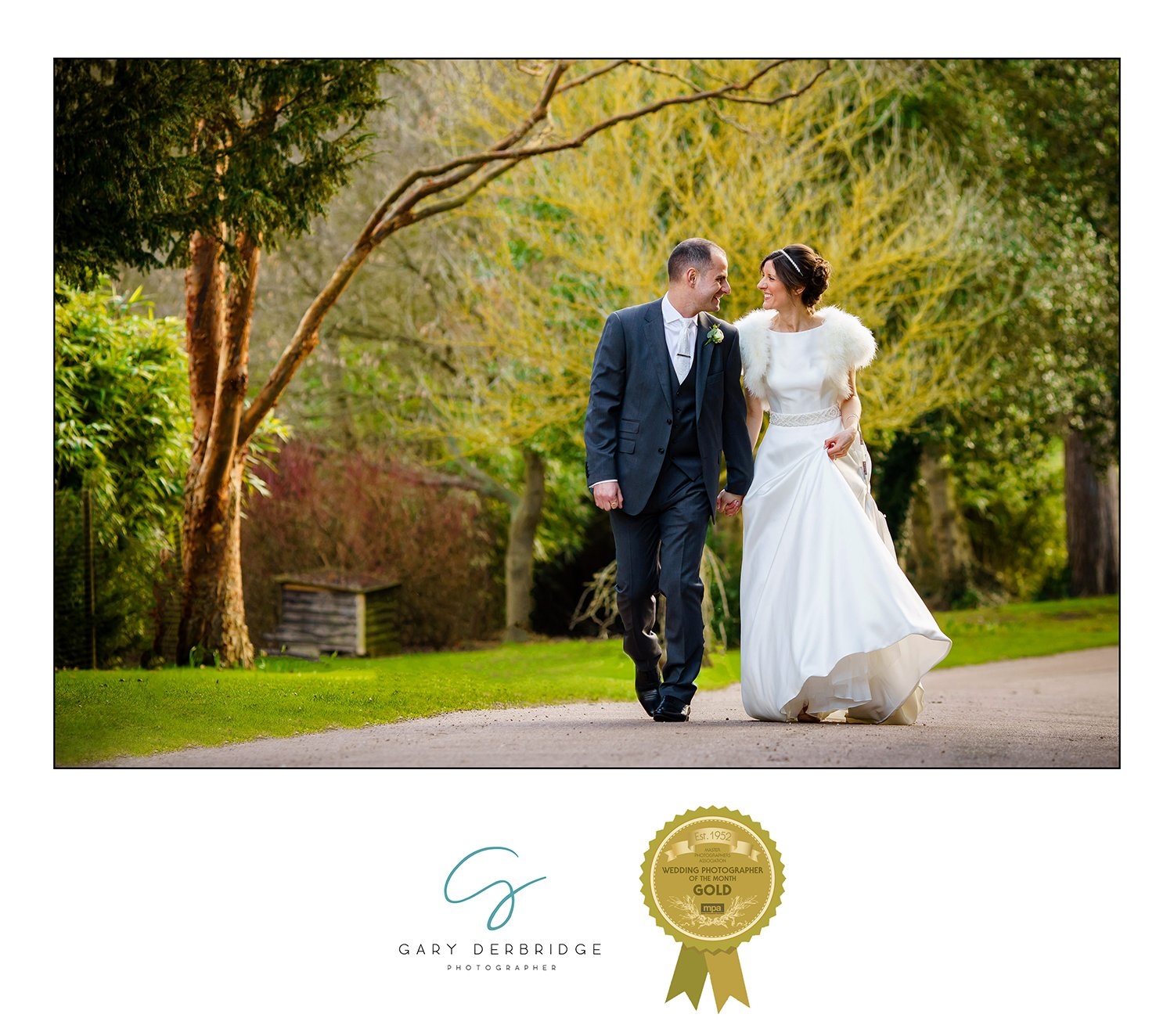 National Award Winning Wedding Photographer Gary Derbridge