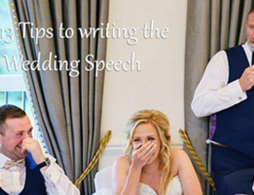 Top 13 Tips to writing the best wedding speech