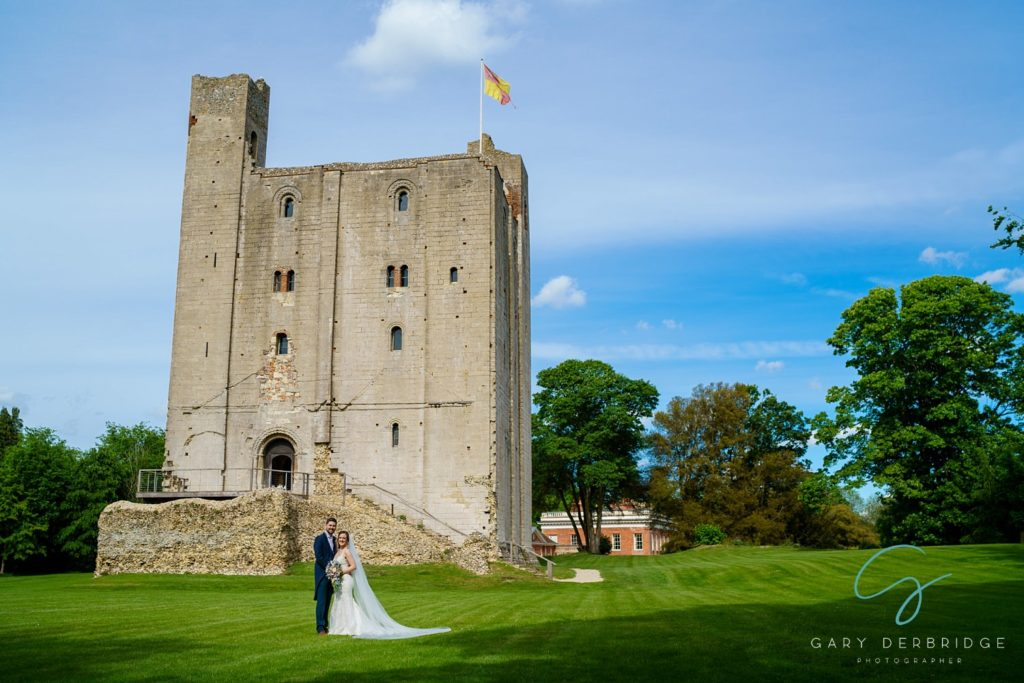 Wedding Photography at Hedingham Castle